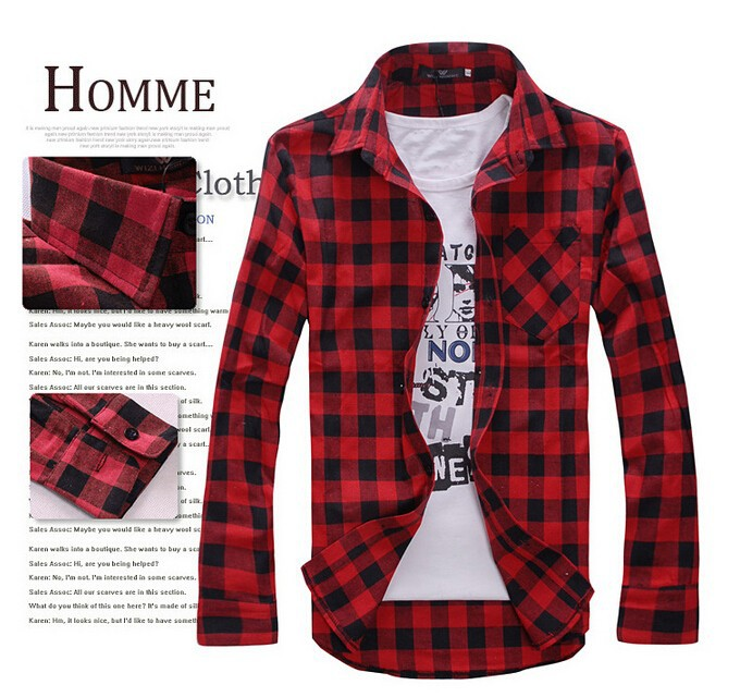 2015-New-Men-s-Long-Sleeved-Flannel-Casual-Plaid-Shirt-Men-Checkered-Dress-Shirts-Slim-Stylish