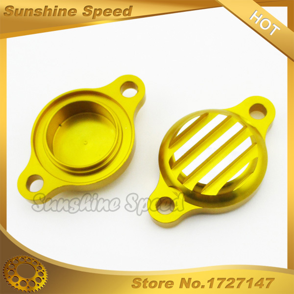 Gold Aluminum CNC Tappet Valve Covers For Lifan 125cc 140cc Pit Dirt Monkey Bike Go Kart Buggy Motorcycle Motocross(China (Mainland))