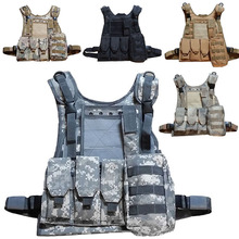 Tactical vest chaleco swat seal Camouflage amphibious High quality cs Counterterrorism Military Protective Training combat 2016(China (Mainland))