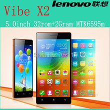 Original Lenovo Vibe X2 smartphone 4G FDD LTE MTK6595 Octa Core in stock FHD 2GB RAM 32GB ROM 13MP Android 4.4 Free shipping