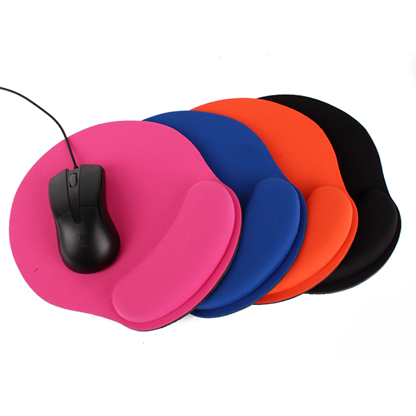 Comfort Wrist Gel PC Mice Pads Thicken Mouse Pad For Optical/Trackball Laser Mat(China (Mainland))