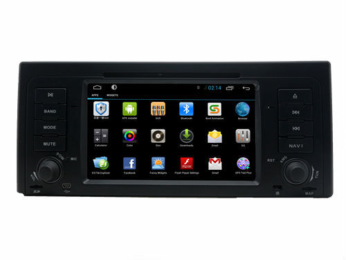 Car DVD Player AutoRadio Stereo with Pure Android 4 2 os GPS Sat Navi Bluetooth IPOD