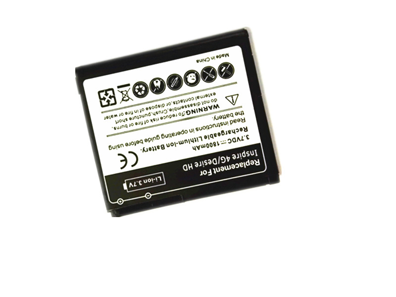1800mAh Replacement Battery For HTC Desire HD G10 BD26100 Extra Smart Phone Battery For Inspire 4G A9191 T8788 100pcs/lot(China (Mainland))