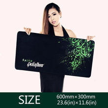 For Razer Goliathus Gaming Game Mouse Pad Mat Control Edition XL Large Size 600*300*3MM free shipping