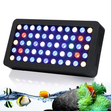 Best Sale!!! Newest Dimmable 165W Led Aquarium Light high lens Quality aquarium led lighting for Coral reef Fish pet Tank(China (Mainland))
