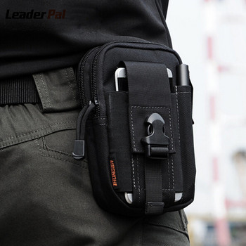 Tactical Waist Bag Outdoor Sport Casual Molle Military Waist Fanny Pack Mobile Phone Case for SAMSUNG Note 2 3 4 1000D CORDURA