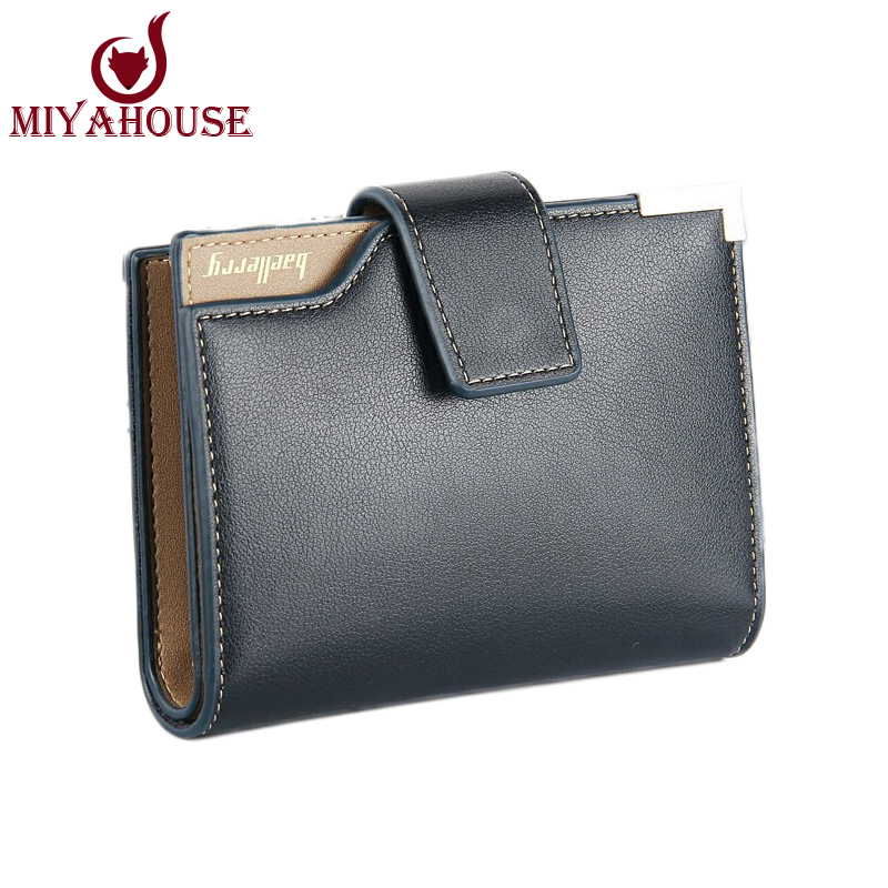 Hot Sale Baellery New Men Wallet PU Leather Short Wallets Multifunction Card Holder Purse Classic Male Hasp Wallet Pocket Purses(China (Mainland))