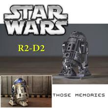 Star Wars Fun R2-D2 Robert Metal Model 1:20 DIY Panel Puzzle Plate 3D Game Nano Metal Educational Toy for Birthday Gift