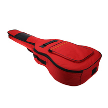 """Water Proof 600D Nylon 41"""" Guitar Backpack Gig Bag Case Shoulder Straps Shock Proof  Rubber 5mm Cotton Padded with Pockets(China (Mainland))"""