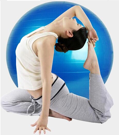 65cm Yoga Home Gym Exercise Pilates Equipment Fitness Ball Pump (Deflation)(China (Mainland))