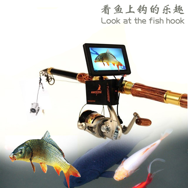 Fishing rods hd visual fish finder ice fishing rod visual for Ice fishing fish finder