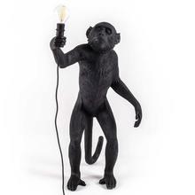 Смола Золотая Обезьяна подвесной висячий светильник Настенный светильник для гостиной светильник Pendante блеск E27 лампа Kroonluchter Luces украшение ...(China)