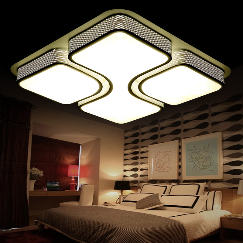 LED  Modern Minimalist  White Ceiling Light Lamp; Acrylic + Iron (AC110/220V)<br><br>Aliexpress