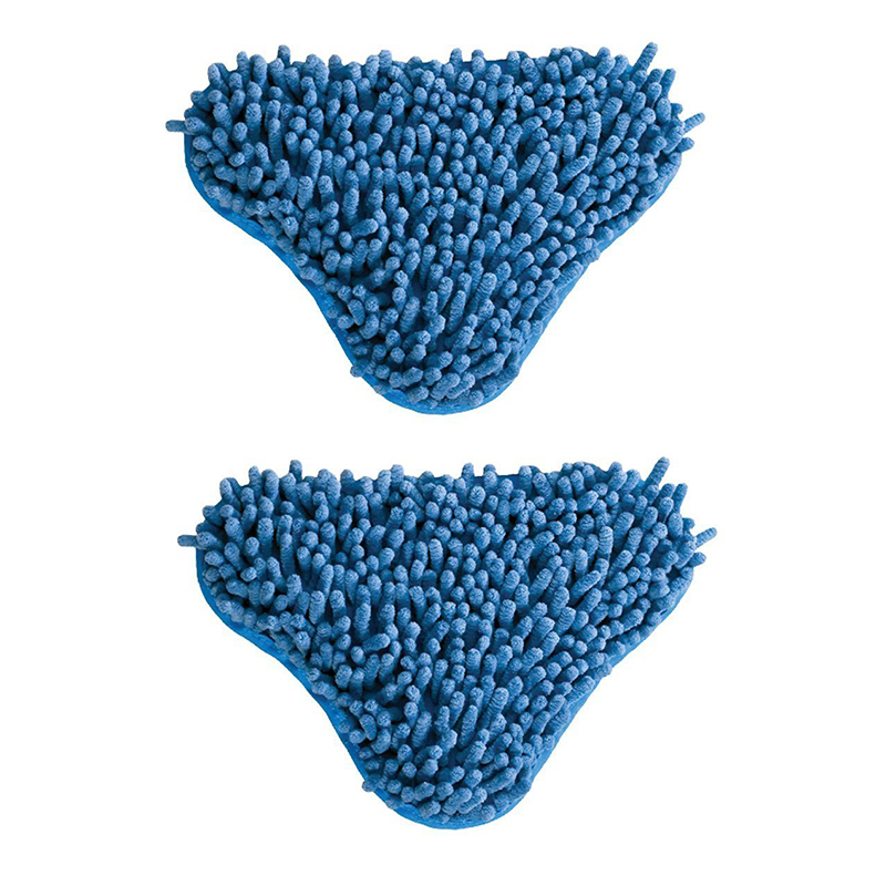 2pcs Blue Coral Micro-fiber Mop Head Pad 2 Pads - exclusively designed for the H2O Mop(China (Mainland))