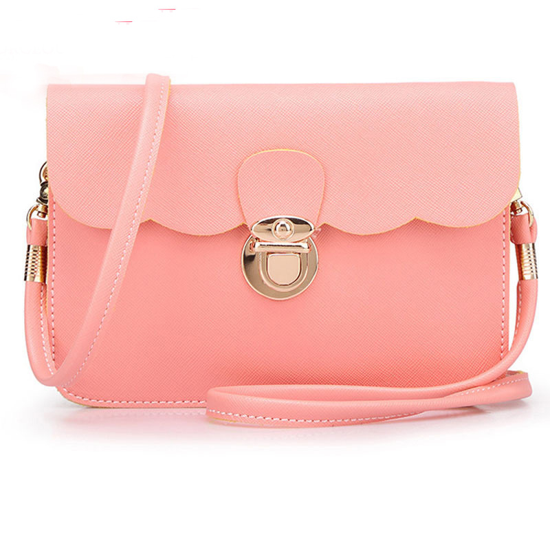 Famous Brand Bags For Women Clutch Bag Pochette Designer girls Hasp Women Leather Handbags Lady Messenger Bags Female Bolsos(China (Mainland))