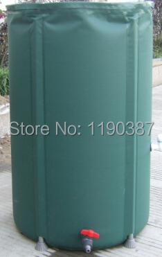 350L foldable water tank rain water connecting rain harvesting container PVC compressible rain barrel(China (Mainland))