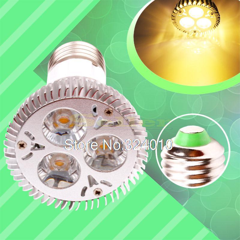 10pcs E27 Warm White 9W 85V - 265V Spotlight 220V 110V Home LED Light Bulb Lamp(China (Mainland))