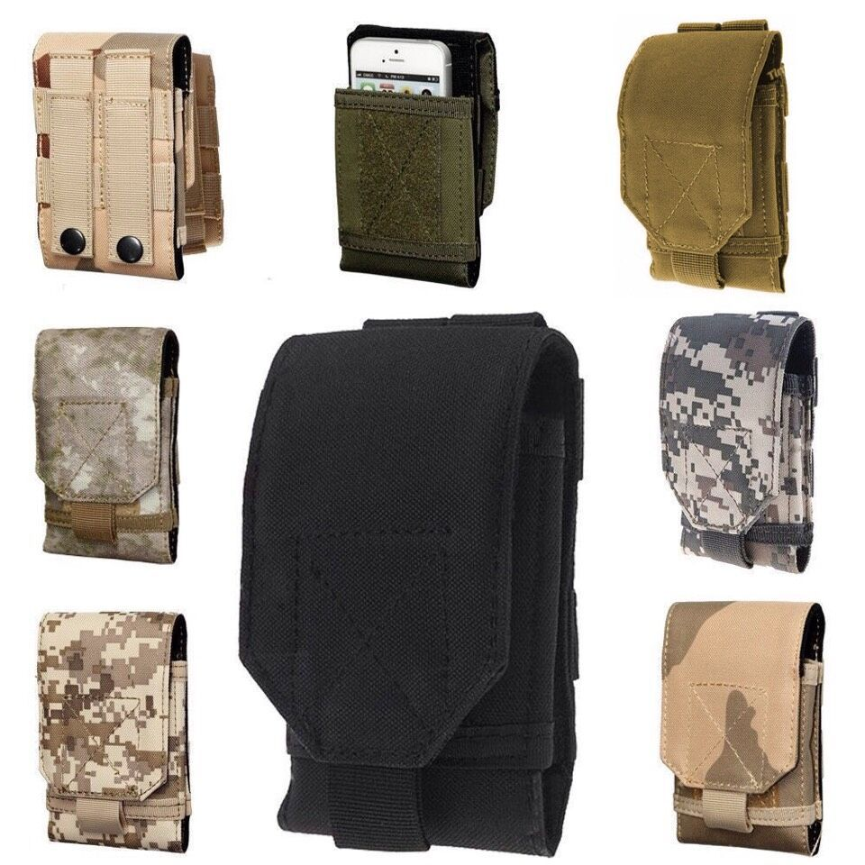 For DOOGEE T5 Case Army Camo Bag Universal Phone Pouch Belt Protect Cover For Samsung Galaxy C7 C7000/Galaxy C5 C5000/UMI MAX(China (Mainland))