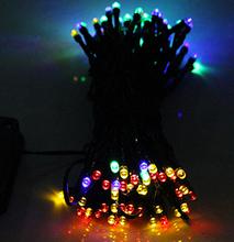 Solar Lamps Power LED String Garlands Lights Solar Garden Christmas Lights Holiday Outdoor Fairy Lights  Waterproof(China (Mainland))