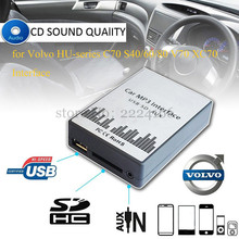 Buy USB SD AUX car MP3 Adapte CD change Volvo HU-series C70 S40/60/80 V70 XC70 Interface,Simple installation,charger car-styling for $35.39 in AliExpress store
