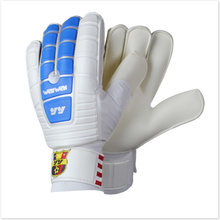 Top goalkeeper gloves 907 professional football team goalkeeper gloves finger band  with finger protection finger safe(China (Mainland))