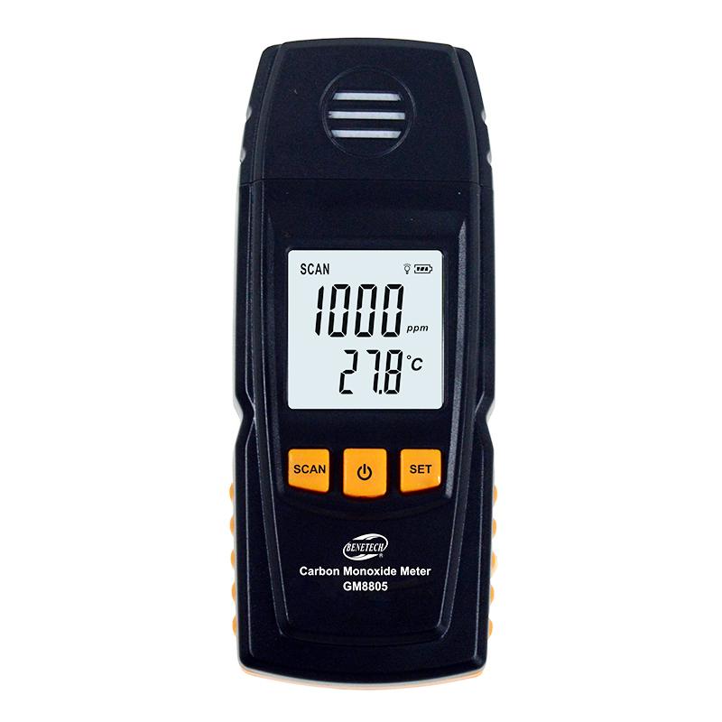 Carbon Monoxide Detector portable CO gas detector gas alarm 1000ppm range Tester Instrumentation