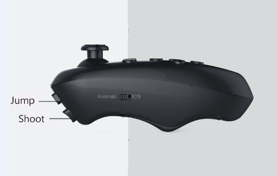 ถูก VR SHINECONรุ่นความจริงเสมือนแว่นตา3Dของg oogleกระดาษแข็งVRแว่นตา+เมาส์ไร้สายบลูทูธgamepadกับแพคเกจ