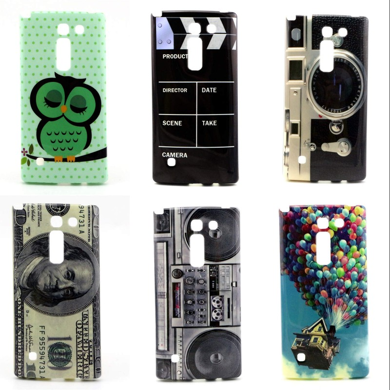 For LG Spirit LTE H420 H422 H440N C70 High Quality IMD Cell Phone Case Soft TPU Cover retro design protector(China (Mainland))