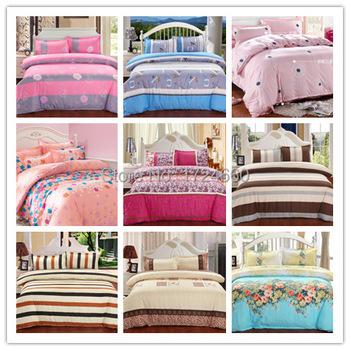 Текстиль для дома, Реактивной принт 4 шт постельные принадлежности комплект роскошь включают пододеяльник крышка + кровать лист + наволочка