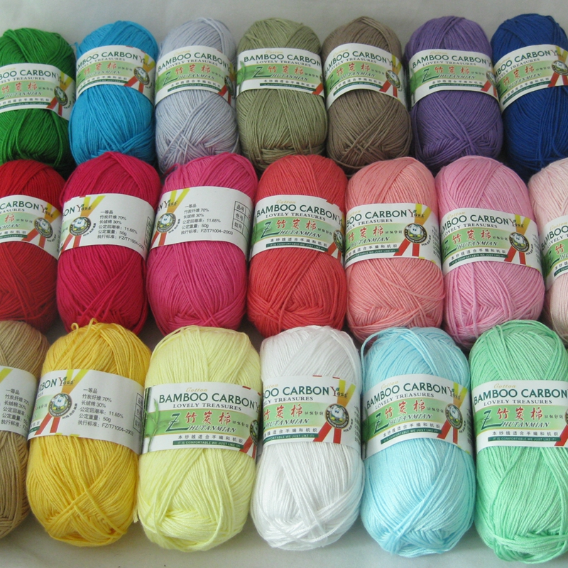 Hand Knitting Yarn Design : Online buy wholesale bamboo yarn from china