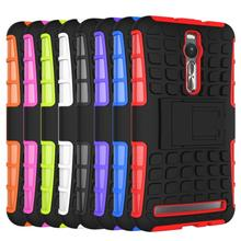 New Hybrid Rugged Grip Armor Stand Case Cover ASUS Zenfone 2 ZE551ML Price Snow - Baby store