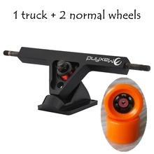 """Long board Skate board Penny Board Trucks Combo set w/83mm Wheels + 7"""" Truck Package(China (Mainland))"""