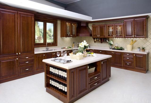 Antique Kitchen Cabinet (AGK-064)