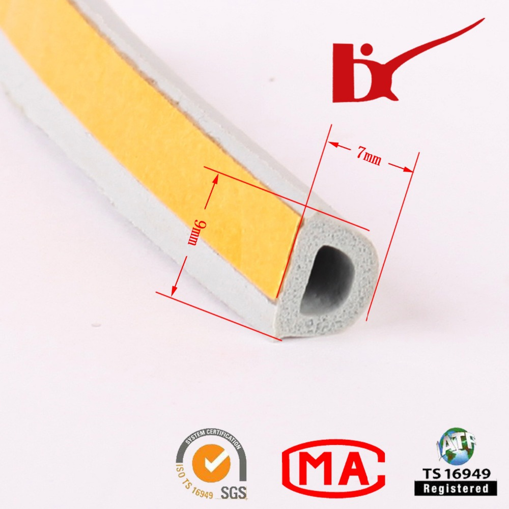 Rubber Extrusion Profile, rubber & epdm seal strips for door/window(China (Mainland))