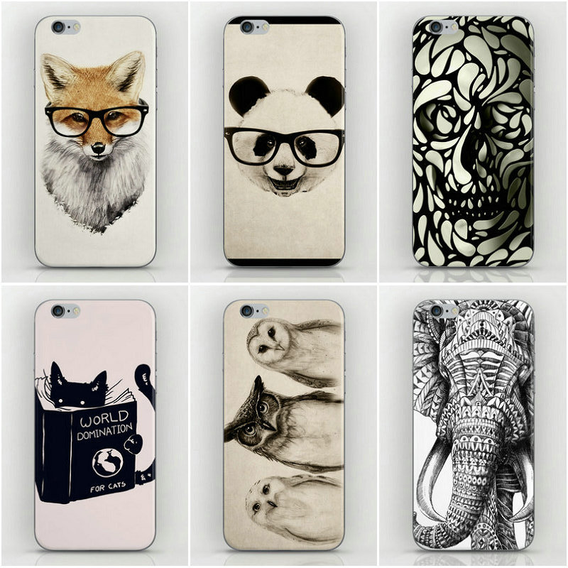 22 Design Animal sketch Style Housing iPhone 5s Cases 5 5g Back Cover Factory Price- - Dream Hero Shop store