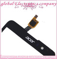 Black Sensor For Acer Liquid Z520 Touch Screen Digitizer Glass Screen With Logo 10pcs a lot