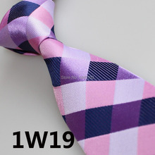 2015 Latest Stylet Luxury Tie Dark Purple/Lilac/Purple/Pink Plaid Design/Party Dress/Acessorios Masculino/Men Shirt/Casual Dress
