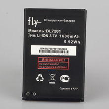 Dxqioo 3.7V ,1600mAh , The cell phone battery for FLY  BL7201  IQ445  battery(China (Mainland))
