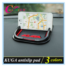 Free Shipping 3D Anti-slip Mat Car Dashboard Non-slip Mat case for Ford KUGA Escape accessories