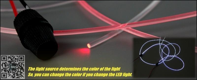 Atmosphere Light Fiber Band For Car Vehicle Inside Outside Interior Refit DIY
