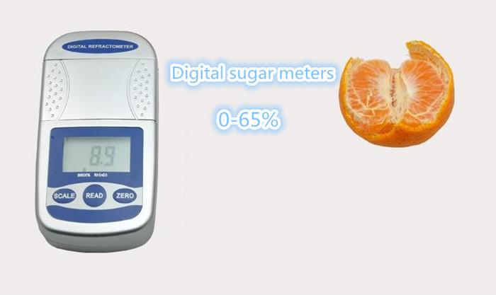 Digital sugar meter Fruit sugar Fast measuring instruments Electronic sugar measuring instrument Refractometer Testing equipment<br><br>Aliexpress
