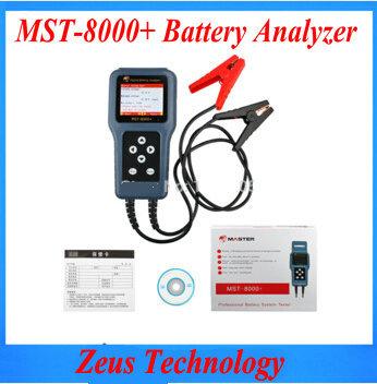 MST-8000+ detachable printer digital car intelligent battery load tester 12v(China (Mainland))