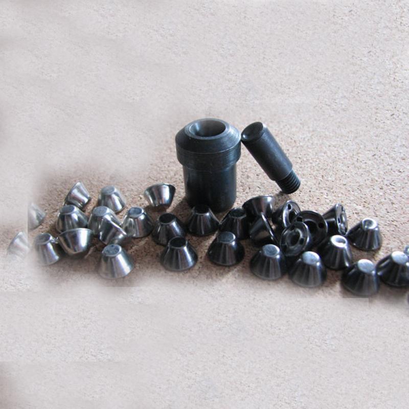 Round Bucket Rivet Die Mold for Hand Press Machine Stud Rivet Setter, 500 Bucket Rivets<br><br>Aliexpress