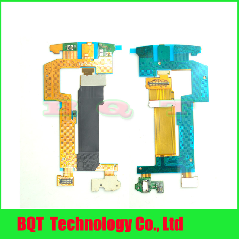Replacement Main Motherboard Board Slide Flex Cable Ribbon Parts For Blackberry Torch 9810 Free Shipping(China (Mainland))