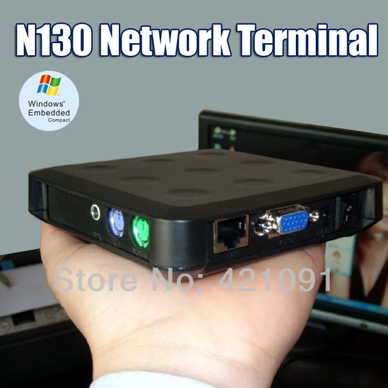 N130 Network Terminal Thin Client Net Computer Sharing Thin PC Station Cloud Computer forTelephone Customer Service/ Library etc(China (Mainland))