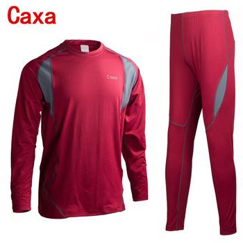 Зимние термобелье мужчин спорт нижнее белье комплектов сжатия флис быстросохнущие мужской термо белье одежда
