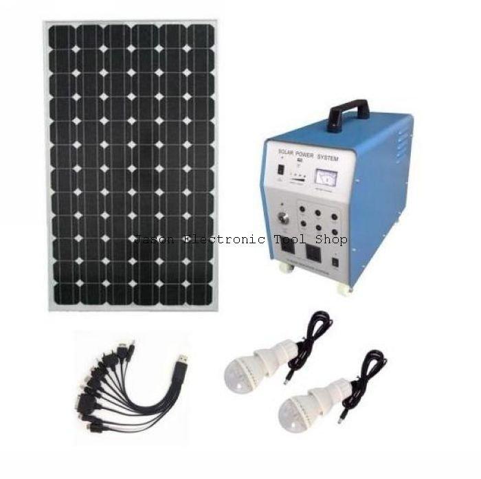 Livraison gratuite 100 w panneau solaire contr leur 20a 65ah batterie rechargeable 2 - Panneau solaire quelle puissance ...