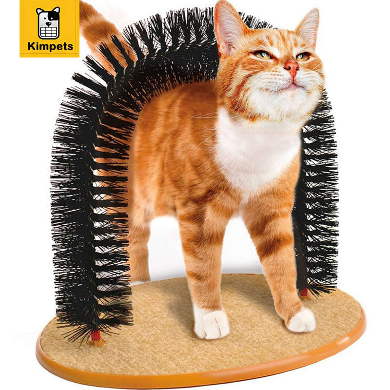 2016 New Arrival Arch Pet Cat Self Groomer With Round