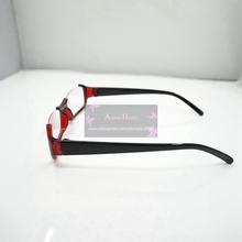 Tokyo Ghouls Kamishiro Rize red frame glasses cosplay glasses handmade CS36