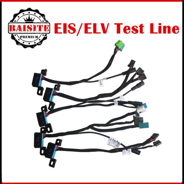2017 New EIS/ELV Test Line Mercedes (Without Get Car) Work Together VVDI BGA MB TOOL